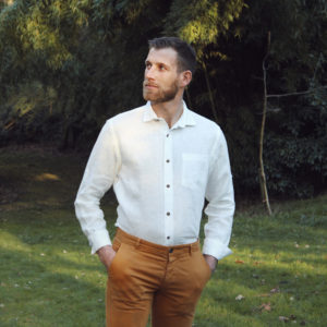 Chemise homme 100% Lin Ivy