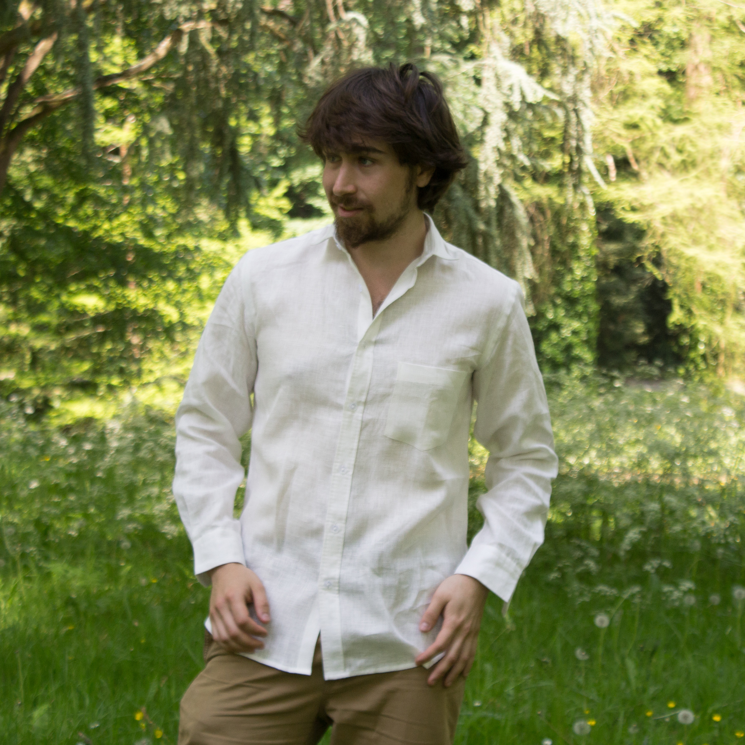 """Chemise Homme """"Ivy"""" - 100% Lin"""