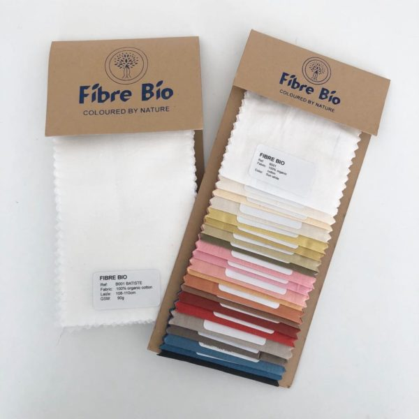 Echantillons tissus et couleurs