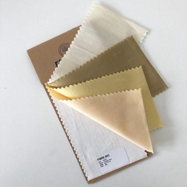 Echantillons tissus mordancés
